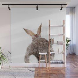 Bunny back side Wall Mural