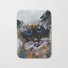 Old Cat Bath Mat