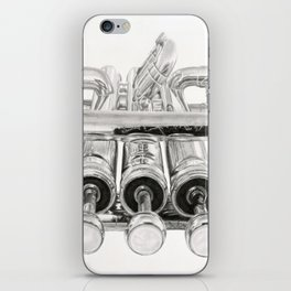 Old Trumpet Valves iPhone Skin