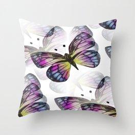 Elusive Butterfly Throw Pillow