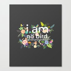 Jane Eyre - I Am No Bird Canvas Print