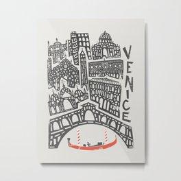 Venice Cityscape Metal Print