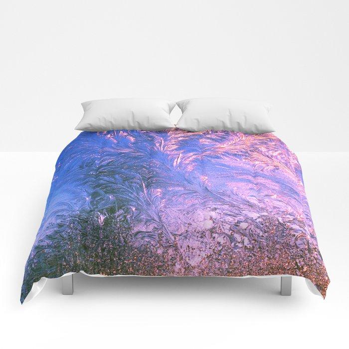 Ice Fractals Comforters