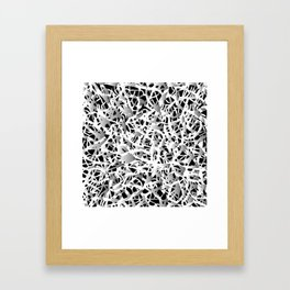 deep structure Framed Art Print