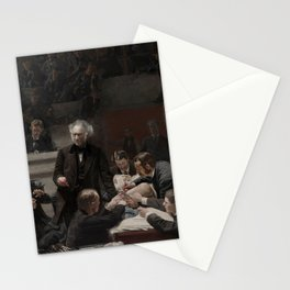 Thomas Eakins - Portrait of Dr Samuel D Gross (The Gross Clinic) Stationery Cards