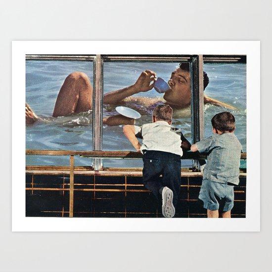 Sea Time Art Print