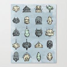 Robot Menagerie Canvas Print