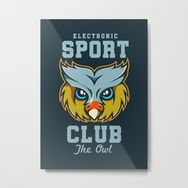 Electronic Sport Club Metal Print