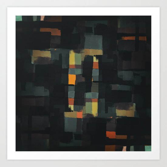 Abstract Painting No. 6 Art Print