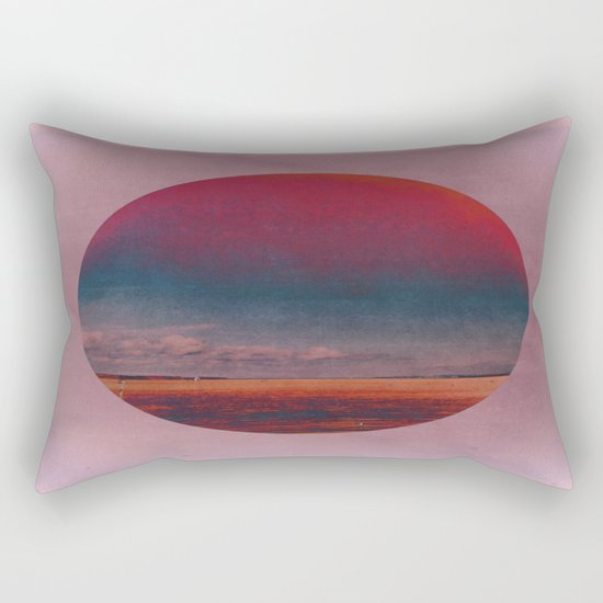Coloring the Colour in the Sea Rectangular Pillow