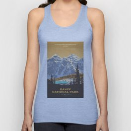 Banff National Park Unisex Tank Top
