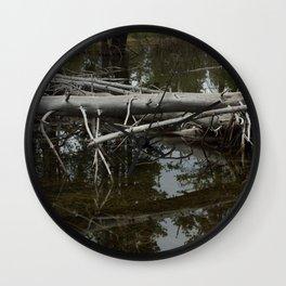 Mirror Pond Wall Clock