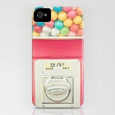 Rainbow Bubblegum Slim Case iPhone (4, 4s)