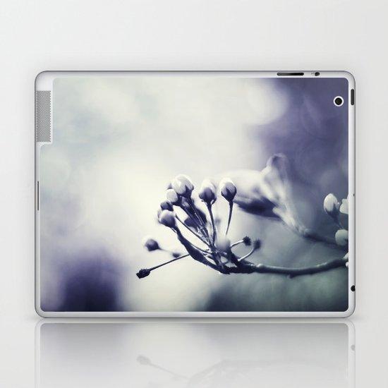 Spring in Black and White III Laptop & iPad Skin