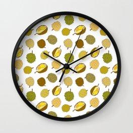 Durian Fruit Wall Clock