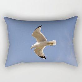 Seagull in the #sky Rectangular Pillow