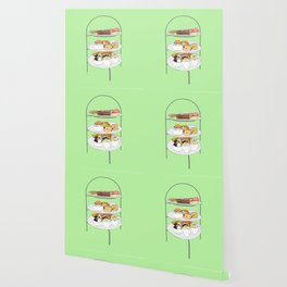 English Afternoon Tea Cakes Wallpaper