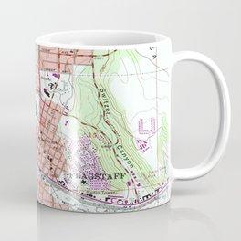 Vintage Map of Flagstaff Arizona (1962) Coffee Mug
