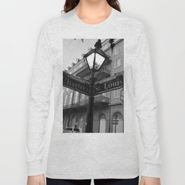 French Quarter, New Orleans streets Long Sleeve T-shirt