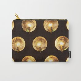 Decorative installation of incandescent lamps Carry-All Pouch