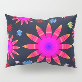 Multicolored flowers Pillow Sham