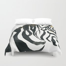 Zebra my love Duvet Cover