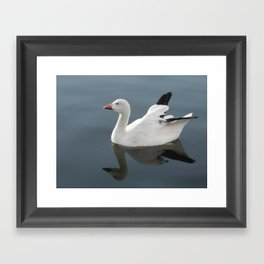 Cross Wing Framed Art Print