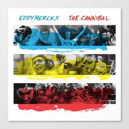 Eddy Merckx - The Cannibal Canvas Print