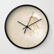 I am a lady Wall Clock