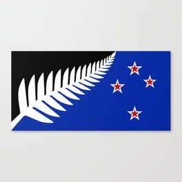 NZ flag (that nearly made it) 2016 Canvas Print