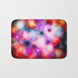 Bright Chalk Stars Bath Mat