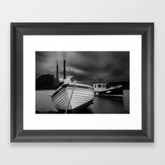 Cockenzie Power Station Framed Art Print