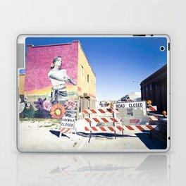 road closed Laptop & iPad Skin