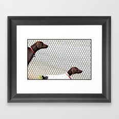 A Second Opinion Framed Art Print