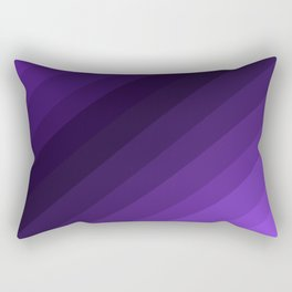 Purple Gradient Rectangular Pillow