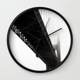 Black Bridge Wall Clock