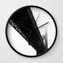 Black Bridge Wall Clock