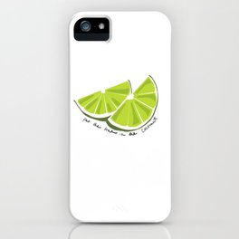 Lime in the Coconut iPhone Case