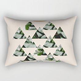 Tropical & Geometry II Rectangular Pillow
