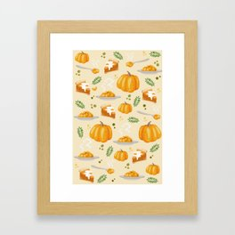 pumpkin Framed Art Print