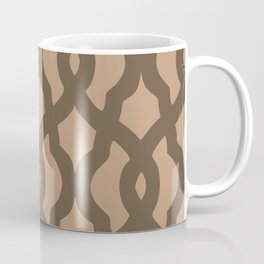 Grille No. 2 -- Brown Coffee Mug