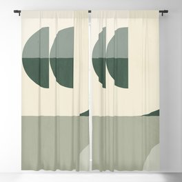 Geometric Abstract 75 Blackout Curtain