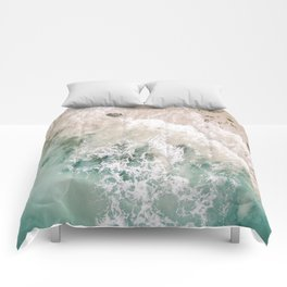 Frothy Fourth Beach Comforters