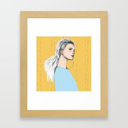 From Above Framed Art Print