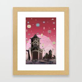 Places to remember... Framed Art Print