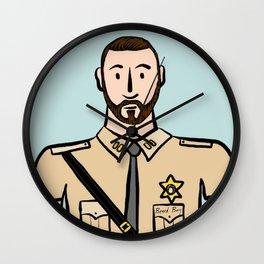 Beard Boy: Stephan Wall Clock