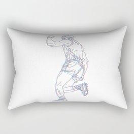 Heart of a Champion Rectangular Pillow