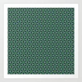 Green Cells Art Print