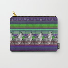Wolves- Blue Carry-All Pouch