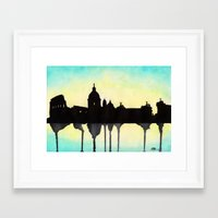 rome Framed Art Prints featuring Rome by Paint the Moment
